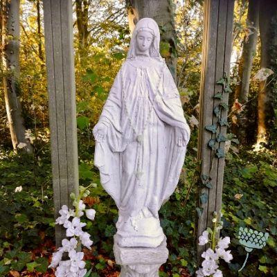 Mariabeeld bij Onze lieve vrouwe ter nood