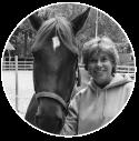 Yvonne van Noortwijk met paard