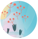 grafische bloemen